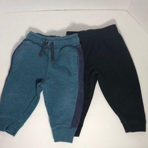 Set of 2 12M Baby Sweatpants